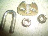El hierro maleable acorta la abrazadera de cuerda de alambre DIN1142