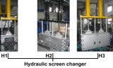 ペレタイザーをリサイクルする二重押出機PPのPEの薄片