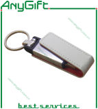 Embossed Logo 26를 가진 가죽 USB Flash Drive