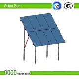 Mucchi a terra della vite per il progetto di energia solare