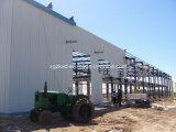 Vorfabrizierte Stahlkonstruktion verwendet für das Aufbereiten der Werkstatt