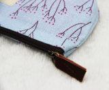 Мешок обменом мешка случая карандаша холстины флористической печати косметический