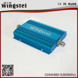 Wingstelの中継器の電話のための小型サイズCDMA980-S 900MHz 3Gの移動式シグナルのアンプ