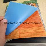 良質の青い裏付けPVC床の敷物ロールスロイス