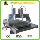 Router de pedra do CNC para o alumínio de mármore do granito