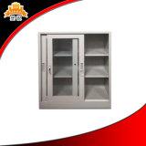 Шкаф для картотеки стеклянной раздвижной двери стальной, шкаф раздвижной двери, офисная мебель