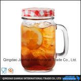 Getränkeglasflaschen-Maurer-Glas mit Griff (JH-20)