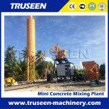 Tipo planta de tratamento por lotes concreta da cubeta do equipamento de construção de Hzs 75m3/H