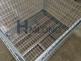Grandi contenitori rigidi saldati della rete metallica della pila