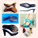 Смолаа PU для подошвы ботинка ботинок Zg-P-5090/Zg-I-5320 женщины High-Heeled