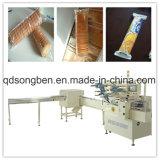 Cracker auf Rand-Verpackungsmaschine mit Zufuhr