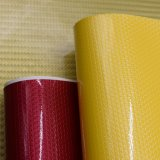 Impressão colorida da patente que brilha o couro sintético de couro do saco da bolsa do plutônio