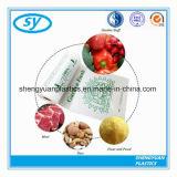 Sacchetti di plastica dell'alimento del supermercato libero dell'HDPE stampati abitudine su rullo