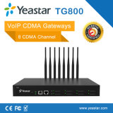 Yeastar 4 GSM Ports Asterisl brokerage house Cards VoIP CDMA Gateway (NeoGate TG800)