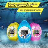 IP68 a prueba de agua reloj de los cabritos GPS con botón de SOS (D11)