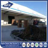 Almacén prefabricado del edificio de la estructura de acero de la luz del bajo costo de China