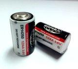 lítio de 3.6V 2.7ah Er14505/bateria cloreto de Thionyl
