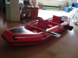 canoa inflable del PVC de la sola de la canoa de la alta calidad de 1.0m m PVC/TPU canoa inflable del doble para la venta
