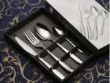 Les couverts d'acier inoxydable de Bifteck-Couteau ont placé pour la vaisselle (C014)