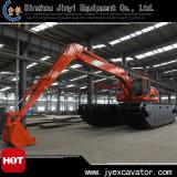 Excavatrice de dragage de terre et d'eau avec l'excavatrice amphibie Jyae-22