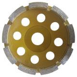 Roda de moedura do copo de Turbo do melhor diamante da boa qualidade das vendas para o concreto