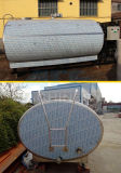 réservoir de stockage horizontal sanitaire de jus de réservoir de stockage de l'acier inoxydable 10kl (ACE-ZNLG-D9)