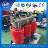 transformateur d'alimentation sec refroidi à l'air de la distribution 10kv