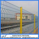 Загородка ячеистой сети обеспеченностью покрынная PVC изогнутая сваренная