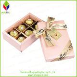 Boîte-cadeau de empaquetage de papier de chocolat de la vente 2016 chaude