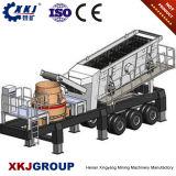 金の採鉱機械のための2017小さい移動式粉砕機小型ディーゼル機関PE250*400の顎