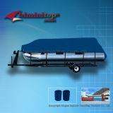 Blue Waterproof pinning tone Boat Covers (ECP600-C)