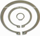 Anel de retenção do aço inoxidável/grampo de retenção (DIN471)
