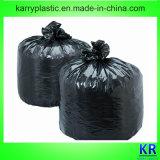 Черные полиэтиленовые пакеты HDPE для собрания погани