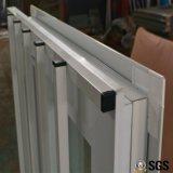 Окно с сетью Buglar нержавеющей стали, окно UPVC сползая UPVC, окно PVC, окно K02015