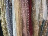 Большинств грациозно рука способа высокого качества делает прибытием Newet вышивки 3 d Rose французскую сетчатую ткань шнурка для платья