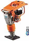 ドイツのなされたポリウレタンによって肋骨で補強されるうなり声を用いる3.0kw 4.0HP Robinエンジンの充填のランマーGyt-77r