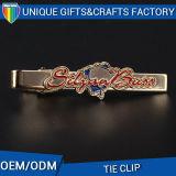 Изготовленный на заказ зажим связи металла для подарка людей с изготовленный на заказ логосом печатание