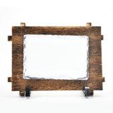 De promotie Rots van het Beeld van de Sublimatie van het Frame van Customed van Giften Lege Houten