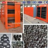 Secador da correia do engranzamento da esfera do carvão vegetal da energia e do elevado desempenho da economia