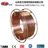 Fil de soudure de matériau de soudure (ER70S-6/SG2/YGW12/A18/G3Si1)