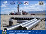 """13の""""高力および競争価格の3/8の68ppf二重層の事前包装された砂利の井戸スクリーン"""