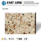 Piedra artificial del cuarzo del color del granito para las encimeras con la superficie sólida