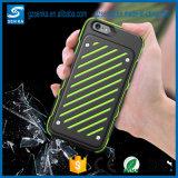 Exemplo protetor do Cheio-Corpo Shockproof resistente híbrido com camada dupla para o iPhone 7/7 positivo