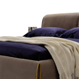 거실 가구 G7002A를 위한 직물 덮개를 가진 현대 디자인 연약한 침대