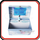 직업적인 제조자 자물쇠를 가진 주문 서류상 선물 수송용 포장 상자