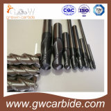 Carbure solide Endmill HRC 60 65 68