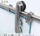 Hardware di vetro del portello di sembrare del sistema di vetro d'argento del portello scorrevole