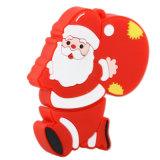 포장 산타클로스 가장 큰 저속한 드라이브 128GB USB 크리스마스 선물