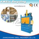 Máquina hidráulica de la prensa del papel usado
