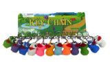 Olho Colorido Popping PVC Keychain brinquedo brinquedos de coruja